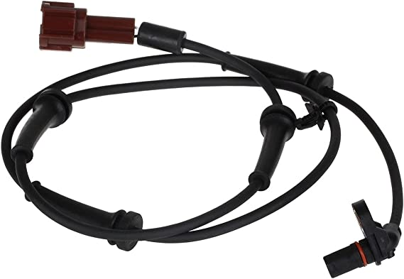 AUTEX 1pc ABS Wheel Speed Sensor Rear Left or Right 479007S025 ALS624 5S10761 SU12214 Compatible with Infiniti QX56 2004-2010 5.6L//Replacement for Nissan Armada 2005-2012 5.6L