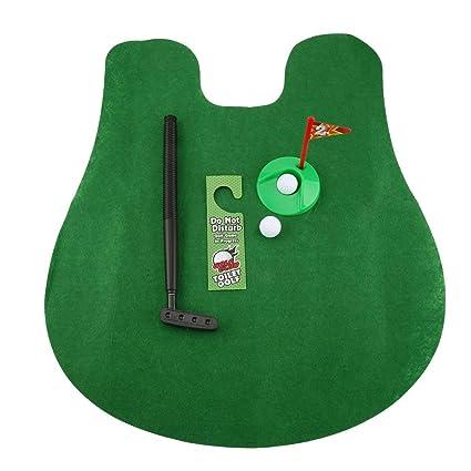 Marvelous Amazon Com Baynne 1 Set Mini Golf Package Mat Toilet Casual Evergreenethics Interior Chair Design Evergreenethicsorg