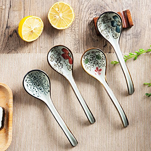 XDOBO Long handle Hook Spoon Soup Spoon Hand-crafted Tableware by xdobo (Image #3)
