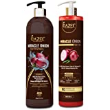 Dazel - The Skin Pulse Miracle Onion Ultimate Hair Care Kit (Shampoo + Hair Oil)