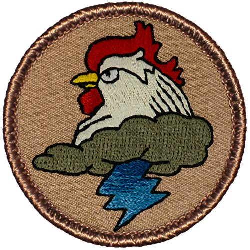 (Thunder Chicken (Blue Lightning) Patrol Patch - 2