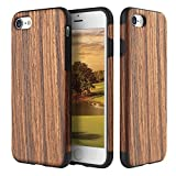 Best Wood Cases For Apple IPhones - iPhone 7 Case, ROCK [Grained] - Rose Wood Review
