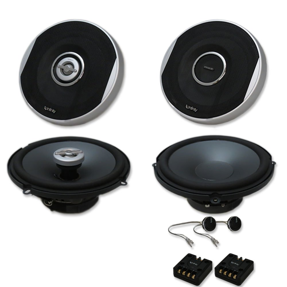Infinity Primus Package 6.5 inch 2-way Car audio caoxial speakers & 6.5'' Component system