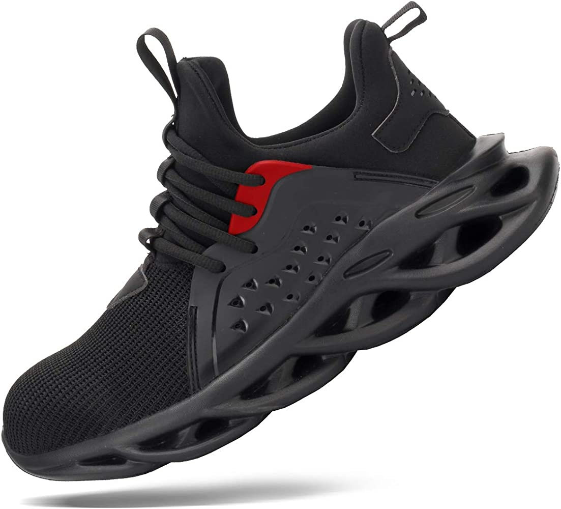 Amazon.com: Tinefiy Steel Toe Shoes for