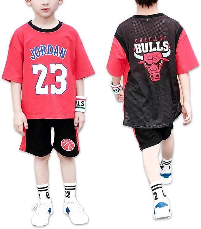 Chicago Bulls Michael Jordan 23# Chicos Baloncesto Camiseta Casual ...