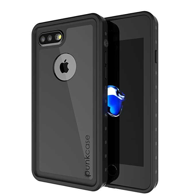 on sale 6e5e8 1ee8e iPhone 7s Plus Waterproof Case, Punkcase [StudStar Series] [Slim Fit] [IP68  Certified] [Shockproof] [Dirtproof] [Snowproof] Armor Cover for Apple ...