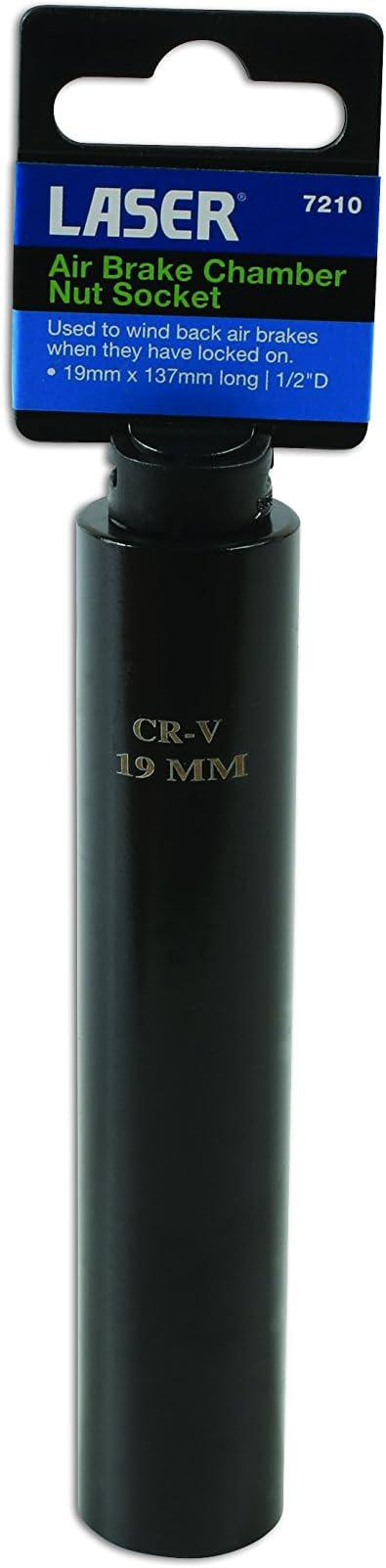 "Air Brake Chamber Nut Socket 19Mm 1//2/""D Laser 7210"