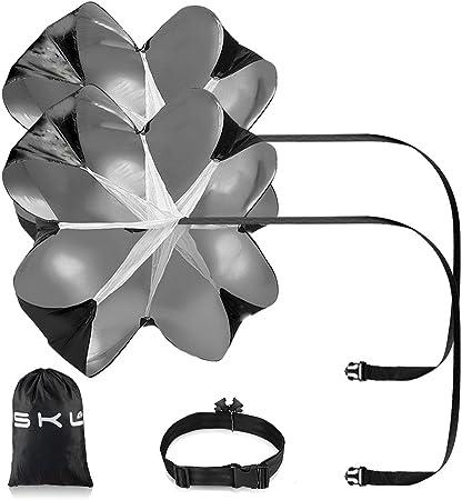 """Imagen deRunning paraguas, 56""""entrenamiento de velocidad resistencia paracaídas paraguas correr ofrece excelente resistencia para mejorar la velocidad, resistencia, fuerza y accelleration"""