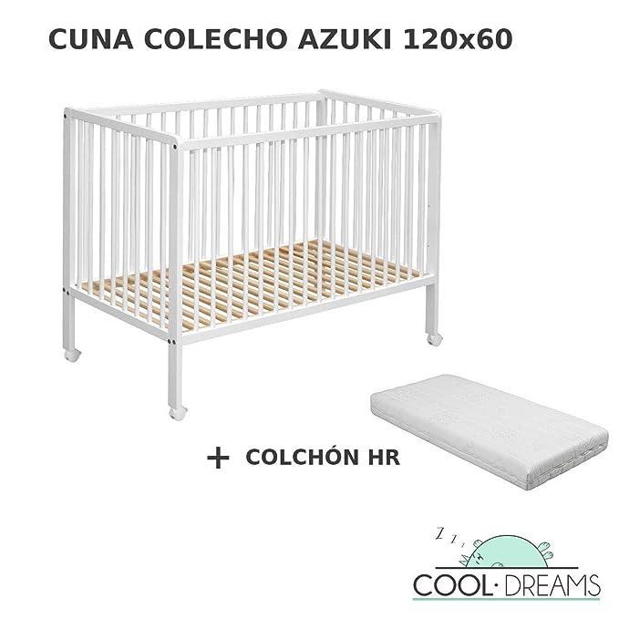 Cuna colecho Azuki 10 alturas colecho (kit colecho opcional ...