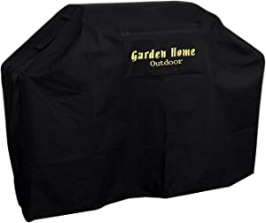 Garden Home Grill Cover Heavy Duty (Black, 70 INCH)