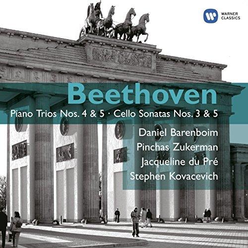 Beethoven: Piano Trios Nos. 4 & 5 - Cello Sonatas Nos. 3 & 5 by Jacqueline Du Pre (1900-08-02)