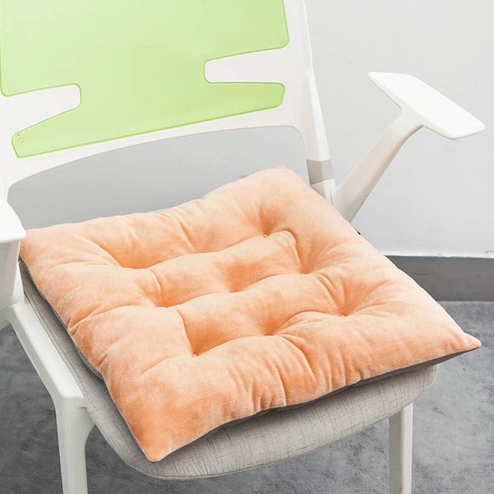 Flips Integrated Student Teaching Office Chair Back Stool Chair Seat Cushion Car Cushion Seat Cushion Home Dining Chair Pad Mat B Camel 40 X 40 Cm 16 X 16 Inches Amazon De Kuche Haushalt
