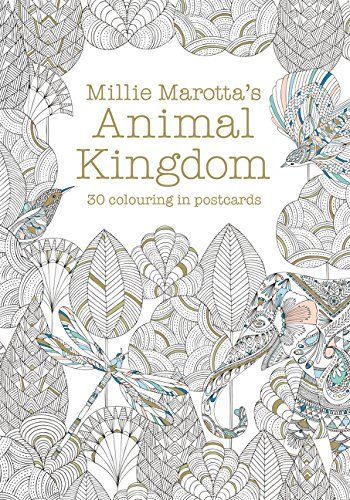 Millie Marotta's Animal Kingdom Postcard Book: 30 beautiful cards for colouring in (Colouring Books) pdf epub