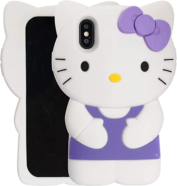 3D Cute Cartoon Soft Silicone Case