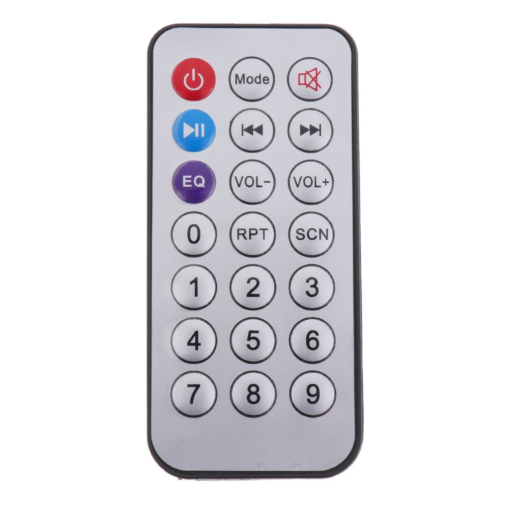 Plata MagiDeal Placa de Decodificador Bluetooth MP3 WMA Mando a Distancia M/ódulo de Audio USB TF Radio para Coche