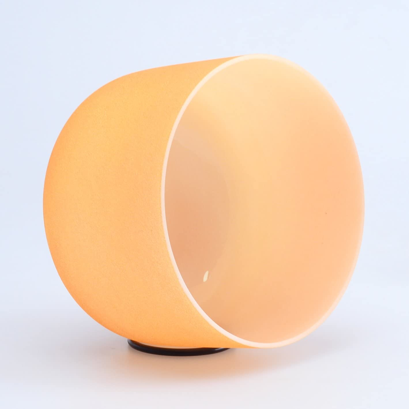 440HZ 10 D# Sexual Orange Chakra Quartz Crystal Singing Bowl