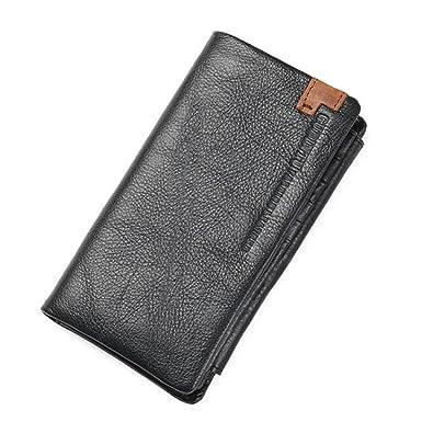 Men Wallets European&American Style Wallets Leather Male Purse Card Holder portfolio cartera