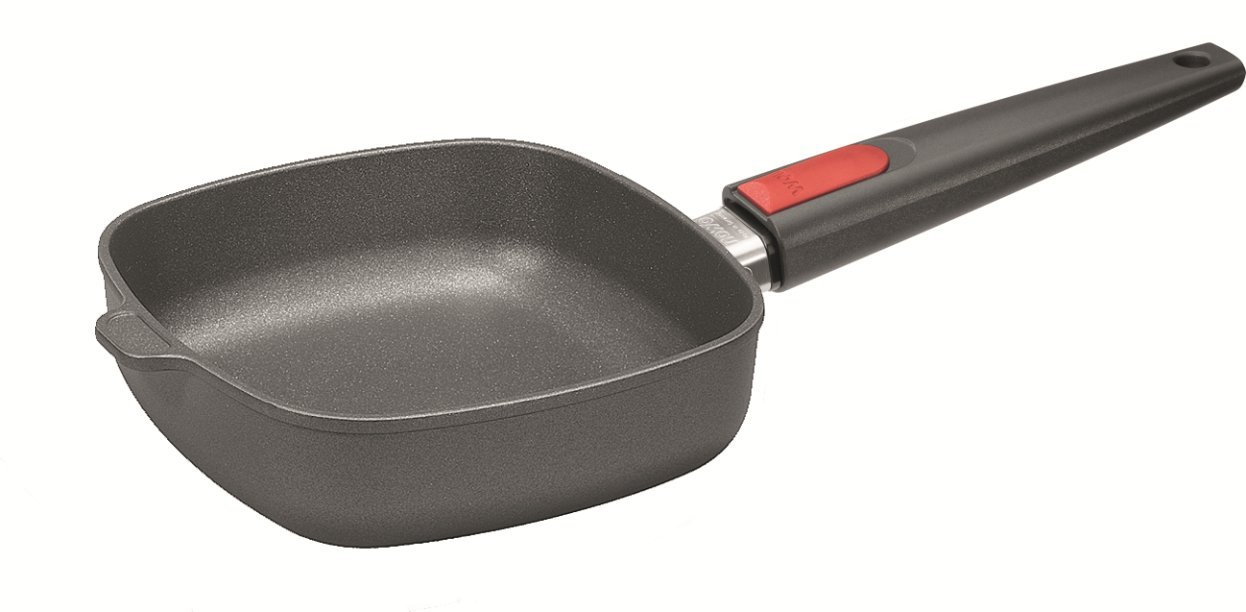 Amazon.com: Woll Nowo Titanium Square Fry Pan with Detachable Handle ...