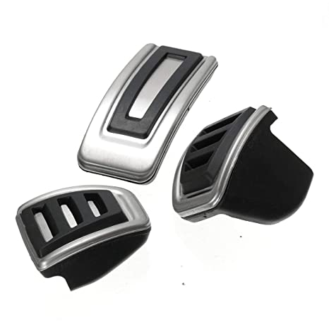 Amazon.com: Sala-Store - 3Pcs/Set Car Clutch Brake Accelerator Pedal Footrest Pad Covers For Skoda Seat Fabia for VW Polo 9N 6R Bora Golf MK4 IV: Home ...