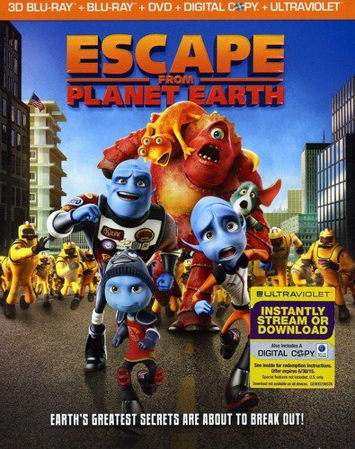 escape from planet earth bluray dvd digital