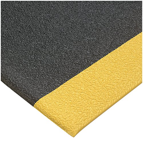 3/8'' Thick - 3' x 12' Grey Deluxe SoftStep Anti-Fatigue Mat - AF-FSS-GY-31238 by Miller Supply Inc