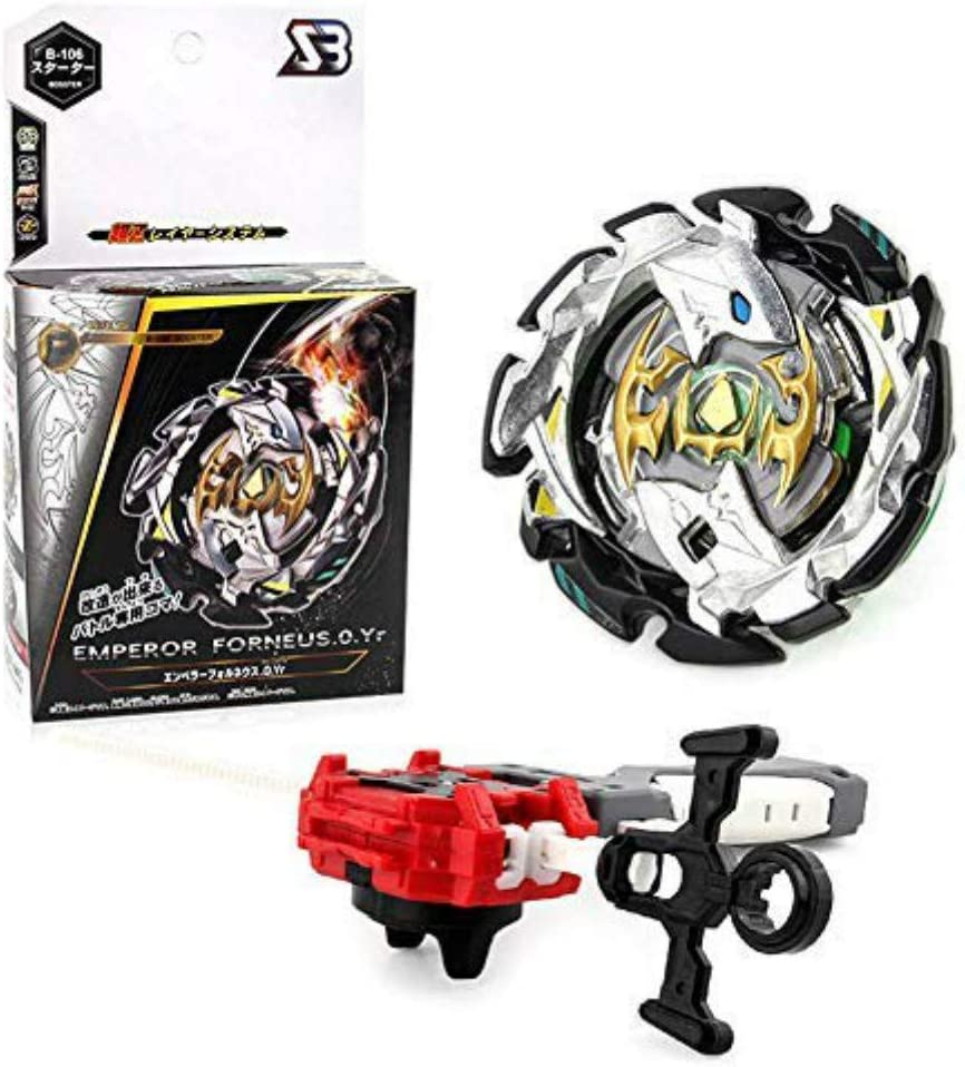 Wywei 4D Fusion Modell Metall Masters Speed Kreisel Kampfkreisel mit Launcher Kinder Jugendliche und Erwachsene