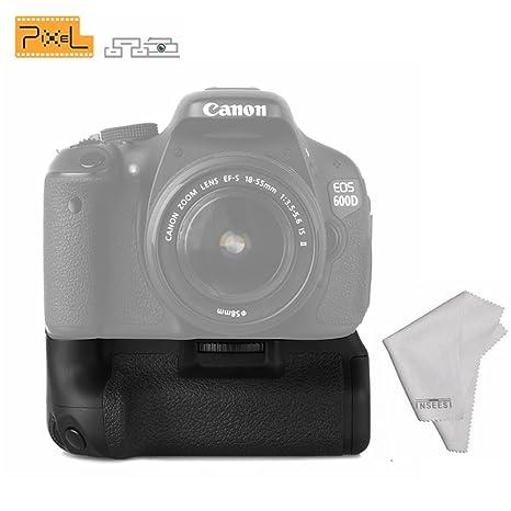 Pixel Vertax E-8 - Soporte para Pilas para cámaras Canon 550D ...