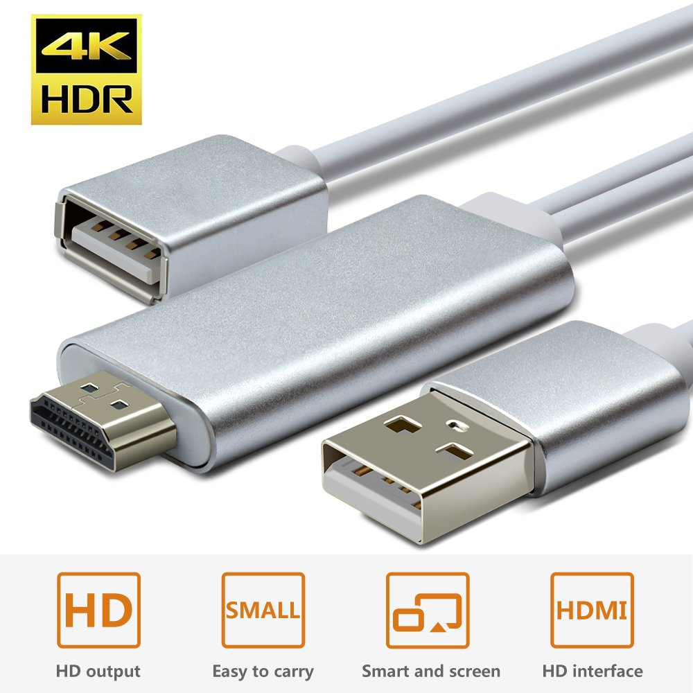 Amazon.com: Wsky USB HDTV Cable, HD 1080P VGA to HDMI Video and ...