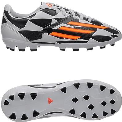 huge selection of afce2 767f1 adidas F10 AG J World Cup M20113 Boys FußballschuheKinderfußballschuhe  White 5.5