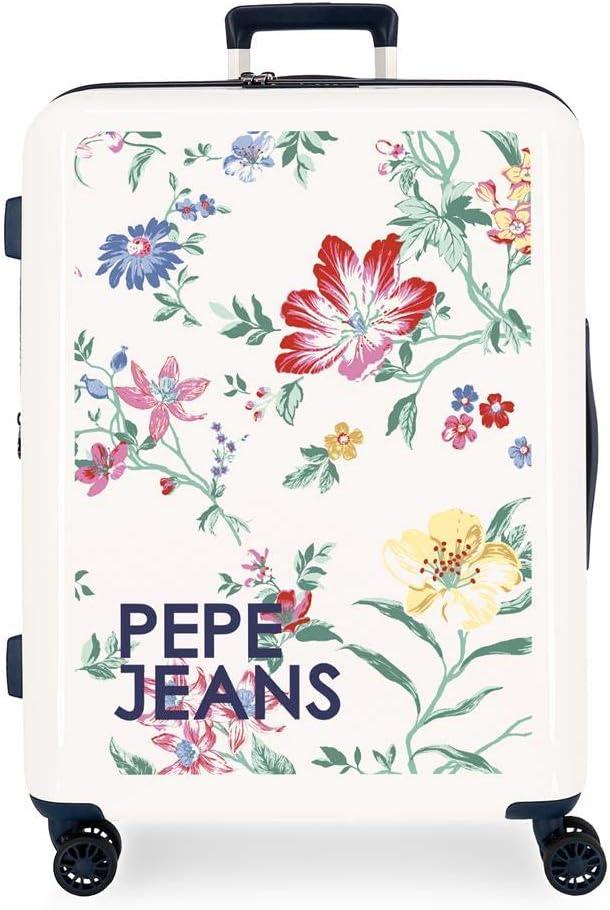 Maleta Mediana Pepe Jeans Leven rígida 70cm Maze