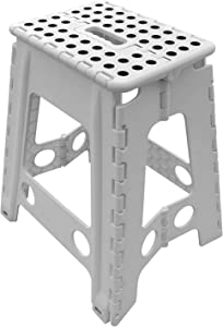 SUGARLEE Folding Step Stool Premium Quality 19 Inch Foldable Step Stool for Home & Kitchen