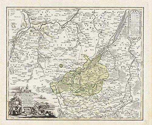 historische-karte-mter-naumburg-zeitz-und-die-herrschaft-droyssig-1732-plano