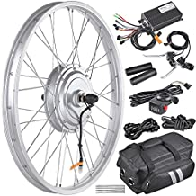 """AW 20.5"""" Electric Bicycle Front Wheel Frame Kit For 24"""" 36V 750W 1.95""""-2.5"""" Tire E-Bike"""