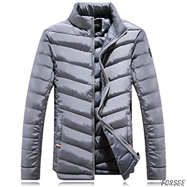 fb76e0b2f84772 Amazon | ダウンジャケット ハイネック メンズ アウター 厚手 メンズアウター あったか 冬 春 カジュアル V型 黒 防寒 シンプル |  コート・ジャケット 通販