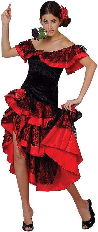 Amazon.com: Español Senorita disfraz Ladies (Español): Clothing