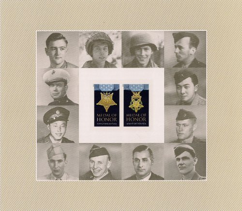 2013 Medal of Honor World War II 20 X Forever U.S. Postage Stamps