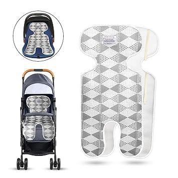 Baby Sitzauflagen Atmungsaktive ,Universal Sitzauflage F/ür Kinderwagen Buggy Kindersitz Und Babyschale K/ühlt