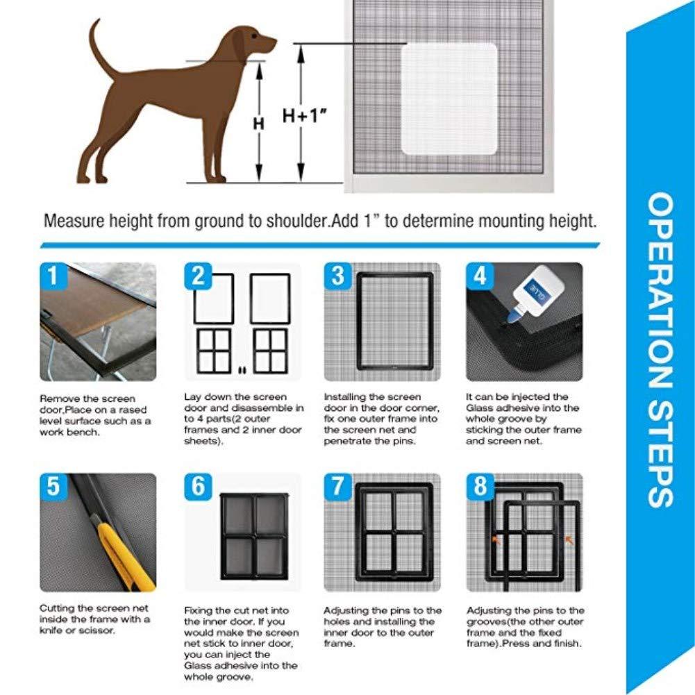 Amazon Djlookk Magnetic Automatic Locklockable Pet Screen