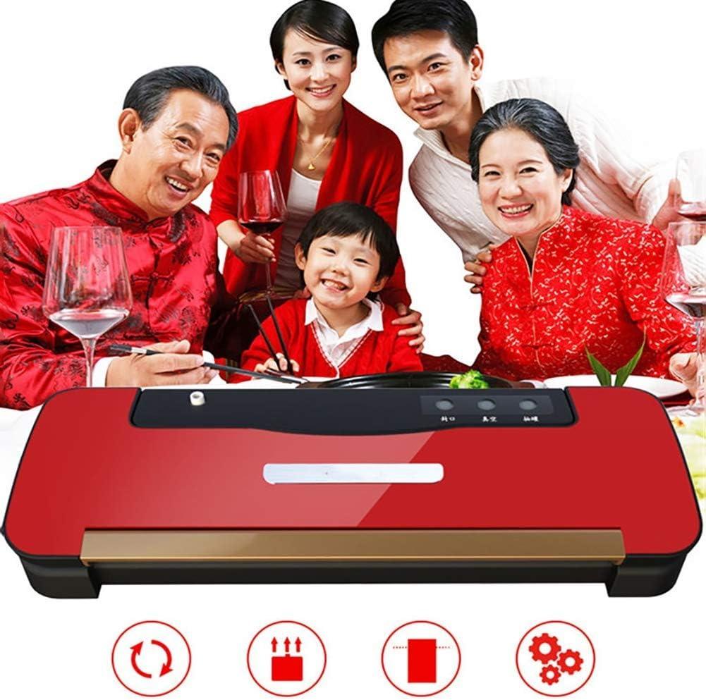 自動モード用真空シーラー食品貯蔵コンパクトなマシン家庭やキッチンに最適110V赤