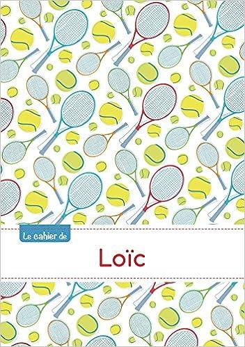 Le cahier de Loïc - Séyès, 96p, A5 - Tennis epub pdf