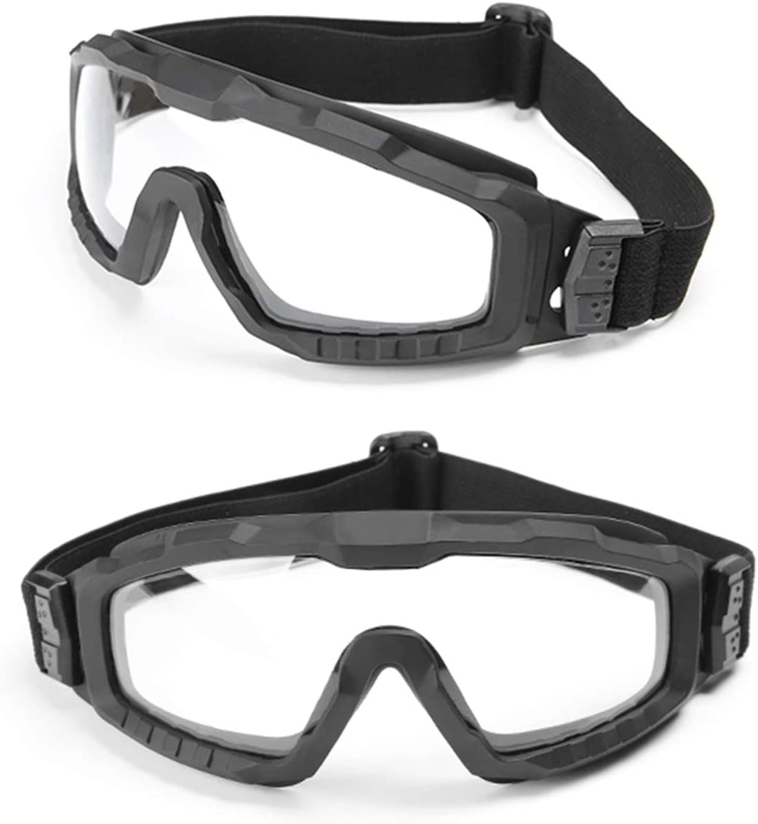 YH Occhiali di Protezione Antinfortunistica Occhiali Occhiali Antipolvere Trasparenti Occhiali da Lavoro Lab Occhiali protettivi Occhiali antispruzzo per Occhiali