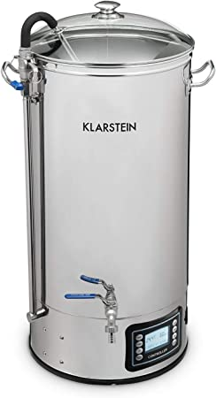 Spare Parts//Accessories for Beer Brewing Kettle Velcro Closures Perfect Fit for Klarstein Mundschenk Mash Tun Size: 30 litres Precise Cut-Outs Klarstein Mundschenk Mash Kettle Insulating Jacket