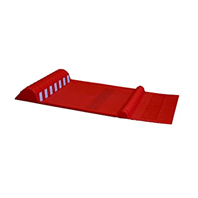 "Maxsa Innovations 37359-RS Park Right 21"" x 11"" x 2"" Parking Mat, Red: Automotive"