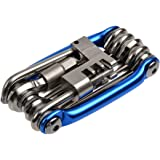 自転車工具セット,Petforu マルチ機能 バイク修理 ツール 携帯