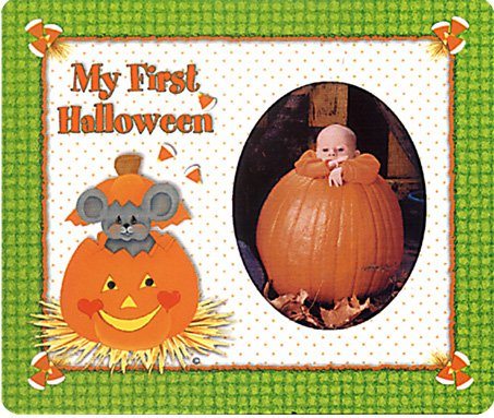 My First Halloween Magnet Photo (Halloween My Photo)