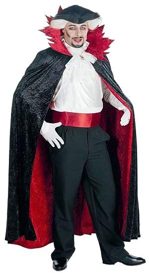 Das Kostümland Conde Drácula capa para adultos al traje de ...