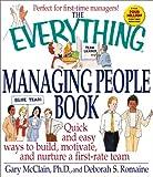 The Managing People Book, Gary McClain and Deborah S. Romaine, 1580625770