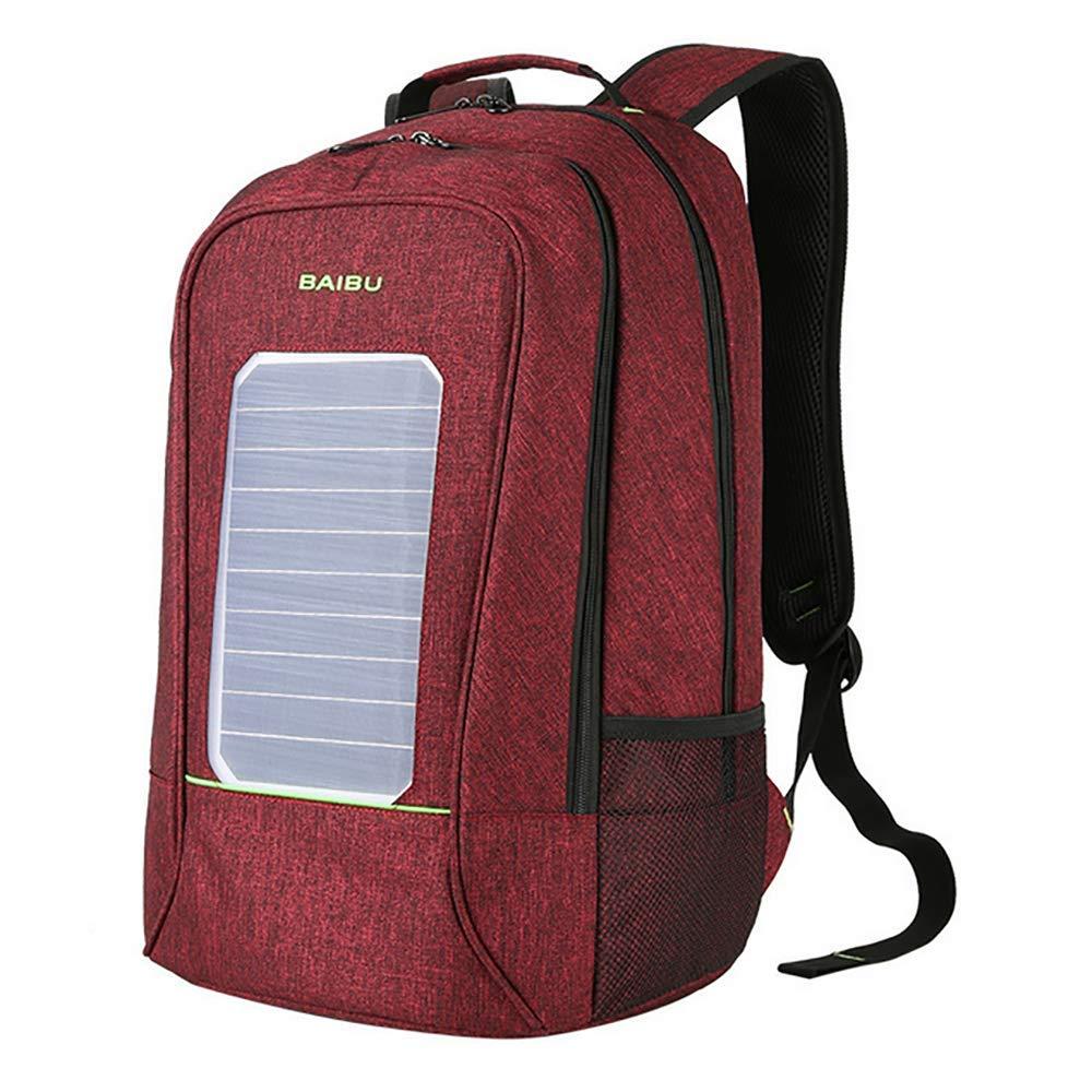 QCC& Hohe Kapazität Solarbetrieben Wandern Daypacks Wasserdicht USB Draußen Wandern Zum Wandern, Reise, Radfahren, Camping