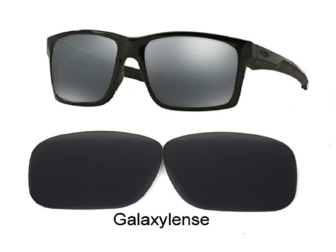 ea95b373cd Image Unavailable. Image not available for. Color  Galaxy Replacement Lenses  For Oakley Mainlink Sunglasses Polarized Black