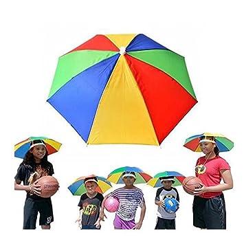 Sombrero portátil para sombrero de paraguas de 50,8 cm de diámetro, ajustable para